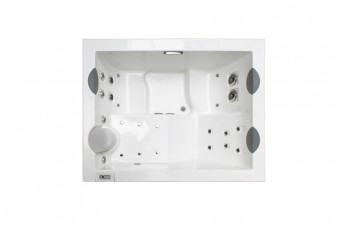 Whirlpool Profile Top White Stereo jacuzzi-jacuniqueteak-31