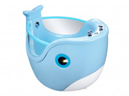 Baby Spa Whale Blauw