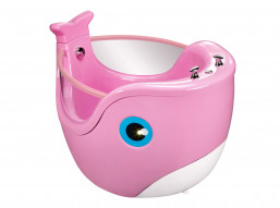 Baby Spa Whale Roze