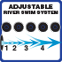 Adjustable River Swim System